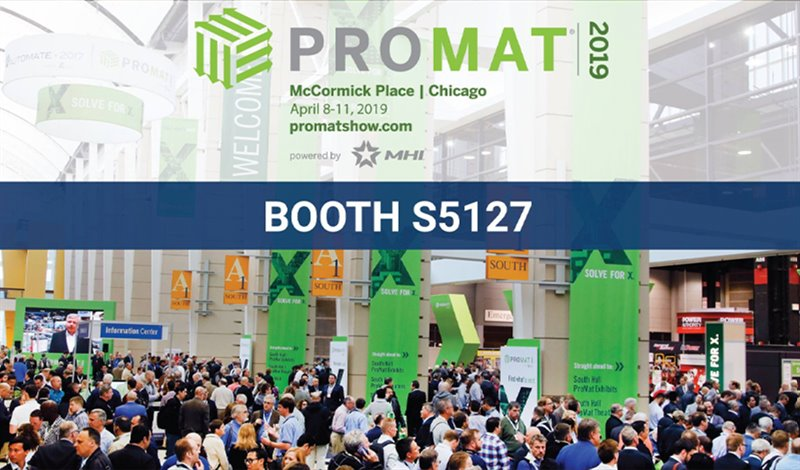 AHS will be at ProMat in April 2019!