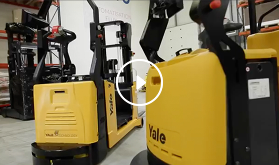 Yale Robots driven by BALYO